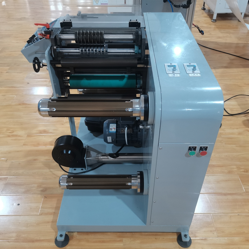 Double-sided Adhesive Tape Slitting And Rewinding Machine for Printed Materials