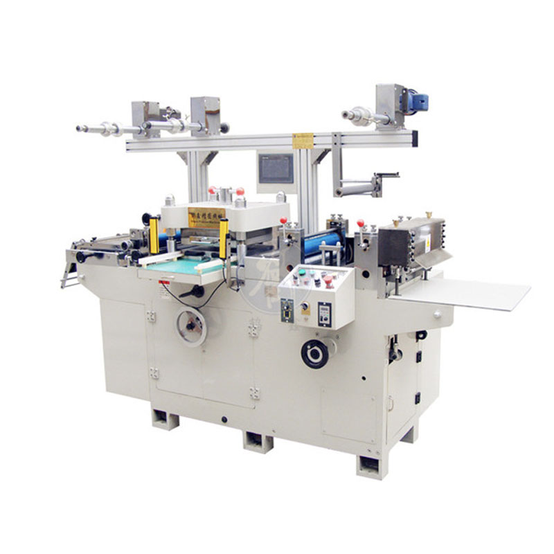 Aluminum blank label die cutting machine
