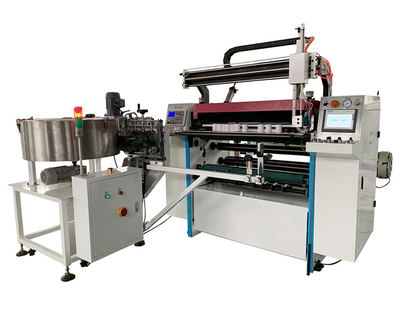 high speed thermal paper roll cutting slitting machine